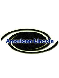 American Lincoln Part #0860-537-1 3366 Rear Wheel Assy