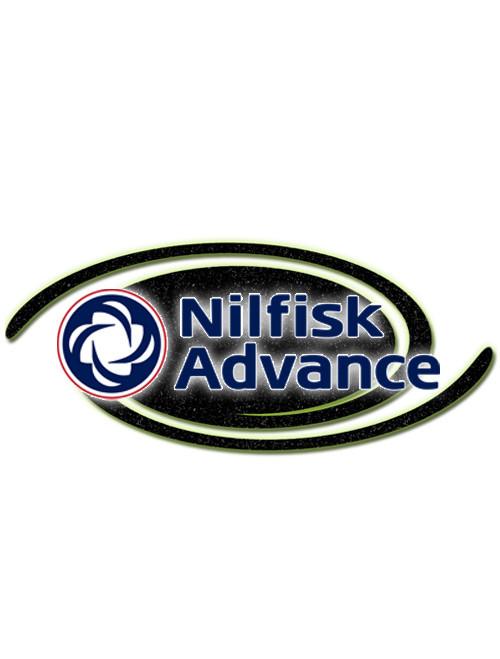 Nilfisk Part #56003052 Scr Hex 8-32 X 1.25