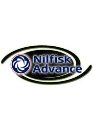 Nilfisk Part #56016405 Decal  Advenger Advance