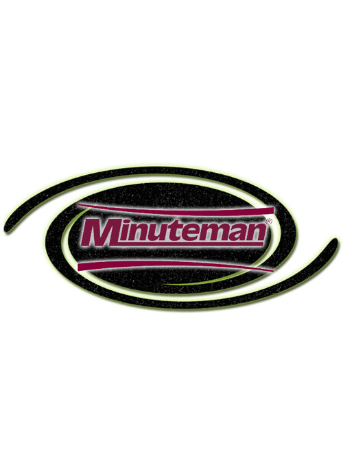 Minuteman Part #01071450 ***SEARCH NEW PART #  90432071  Straight Screw Connection