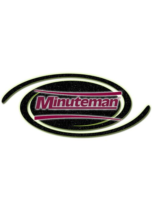Minuteman Part #01077480 ***SEARCH NEW PART #  90494139  Blade-Rear Polyurethane (