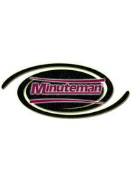 Minuteman Part #01079790 Squeegee, Front Polyurethane