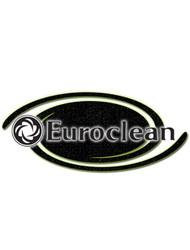 EuroClean Part #L08603026 Cover  Suction Channel