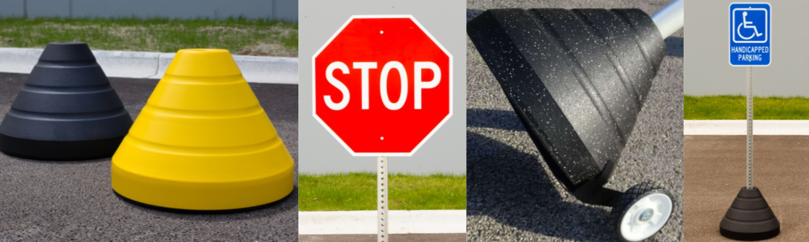 TRAFFIC & PARKING SIGN BASES