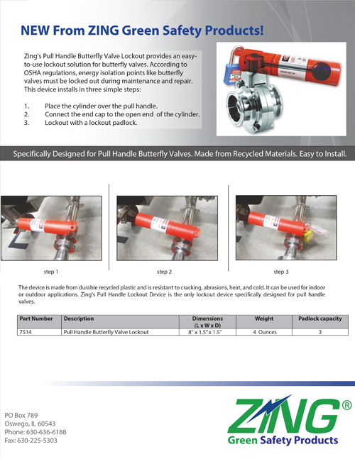 Pull Handle Butterfly Valve