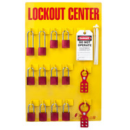 Lockout Tagout Station, 12 Padlock