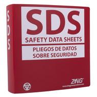 """SDS Binder, 2.5"""" Ring (500 Sheets)"""