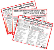 GHS Posters-Set of 3