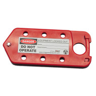 Hasp-Tag Combination Lockout