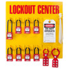 Lockout Station, 8 Padlock Stocked