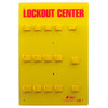 Lockout Station 12 Padlock Unstockd