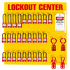 Lockout Station 28 Padlock Stocked