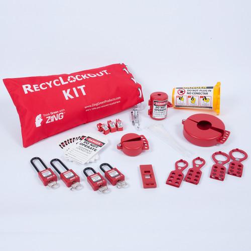 Lockout Tagout Kit, 35 Components