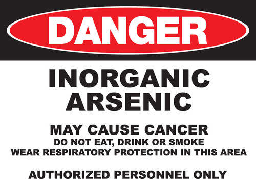 DANGER Arsenic