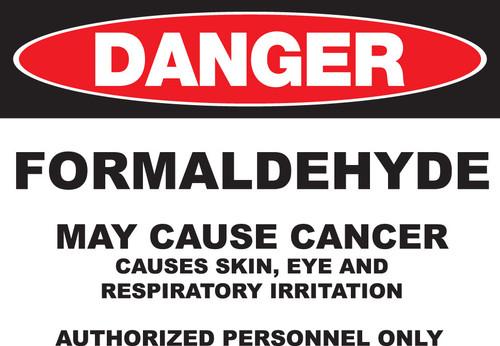 DANGER Formaldehyde