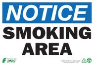 NOTICE Smoking Area