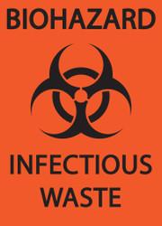 BIOHAZARD INFECTIOUS WASTE