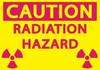 CAUTION RADIATION HAZARD