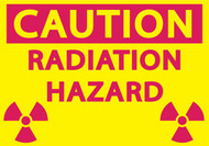 CAUTION RADIATION HAZARD