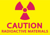 CAUTION RADIOACTIVE MATERIALS