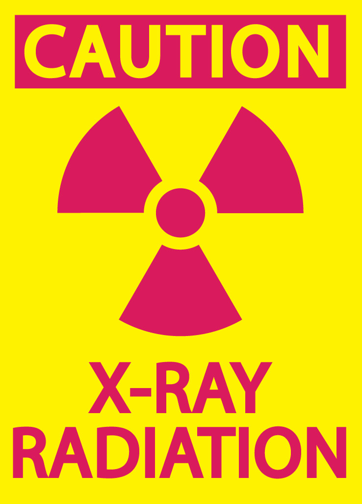 X Ray Radiation >> Zing Eco Safety Sign Caution X Ray Radiation 10hx7w Available In Different Materials