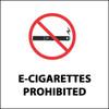 E-Cigarettes Prohibited