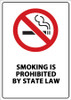 Smoking is Prohibited by State Law