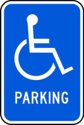 Handicapped Symbol Parking