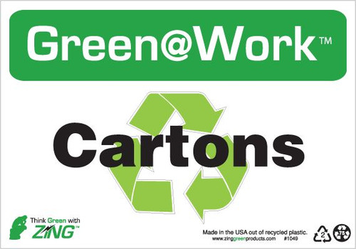 Cartons, Recycle Symbol