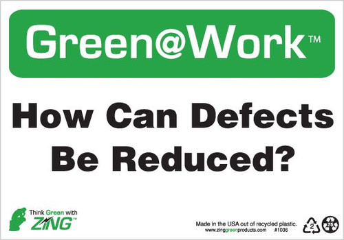 How Can Defects Be Reduced