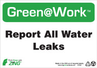 Report All Water Leaks