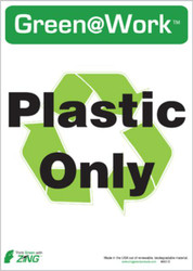 Recycle Recycled Plastic Only
