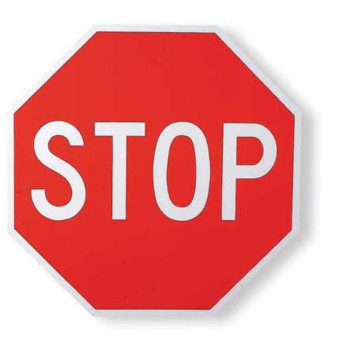 Eco Traffic Sign, 24X24, EGP
