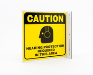 Eco Safety L Sign, 7X7
