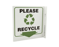 Eco Recycle L Sign, 7X7