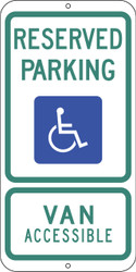 Eco Parking Sign, 24X12, EGP