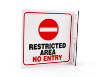 ZING Eco Safety L Sign, 7X7