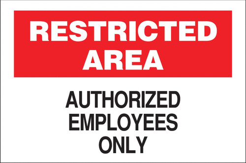 ZING Eco Security Sign, 10X14