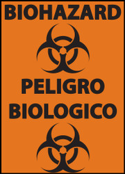 Biohazard, English/Spanish bilingual