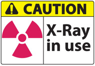 X Ray In Use Sign