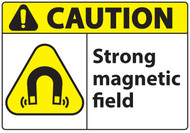 Caution Magnetic Field Sign