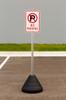 No Parking Sign Kit