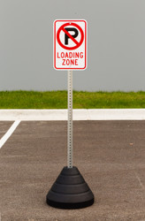 Zing No Parking Sign Kit