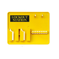 Lockout Station, Unstocked, 7 Lock Capacity
