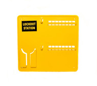 Lockout Station, Unstocked, 16 Lock Capacity