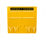 Lockout Station, Unstocked, 48 Lock Capacity
