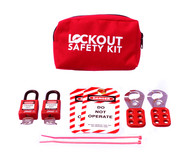 Basic Lockout Kit, Portable Pouch
