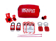 Electrical Lockout Belt Kit, Portable Pouch