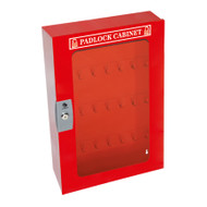 Padlock Cabinet, Clear Window, 84 Padlock