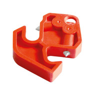 Miniature Circuit Breaker Lockout, Red